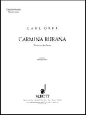 Carmina Burana. Choeur Femmes - ORFF - Partition - laflutedepan.com