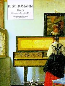 Rêverie Opus 15-7 SCHUMANN Partition Piano - laflutedepan