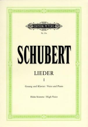 Lieder Volume 1 - Voix Haute SCHUBERT Partition laflutedepan