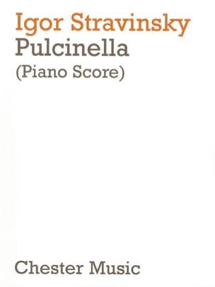 Pulcinella STRAVINSKY Partition Opéras - laflutedepan