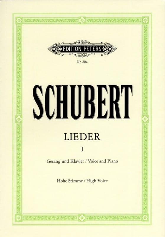 Lieder Volume 1 - Voix Haute - SCHUBERT - Partition - laflutedepan.com
