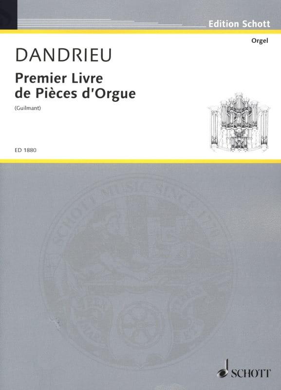 1er Livre De Pièces D'orgue - DANDRIEU - Partition - laflutedepan.com