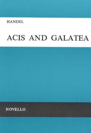 HAENDEL - Acis And Galatea. HWV 49a - Partition - di-arezzo.co.uk