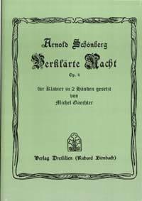 Verklärte Nacht Op. 4 SCHOENBERG Partition Piano - laflutedepan