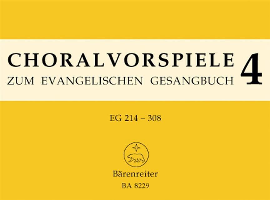 Préludes de Chorals. Volume 4 - Partition - laflutedepan.com