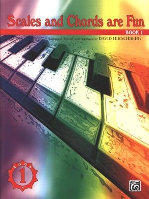 Scales And Chords Are Fun. Volume 1 David Hirschberg laflutedepan