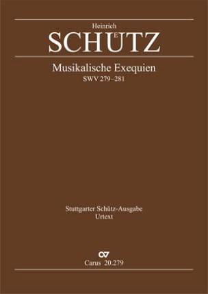 Musikalische Exequien I-Iii. Swv 279, 280, 281 SCHUTZ laflutedepan
