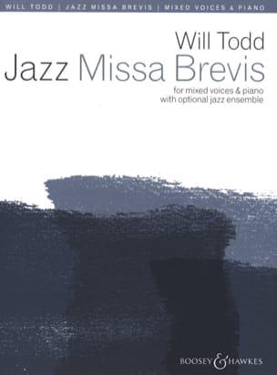 Jazz Missa Brevis Will Todd Partition Chœur - laflutedepan