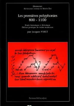 Les Premières Polyphonies 800-1100 Partition Chœur - laflutedepan