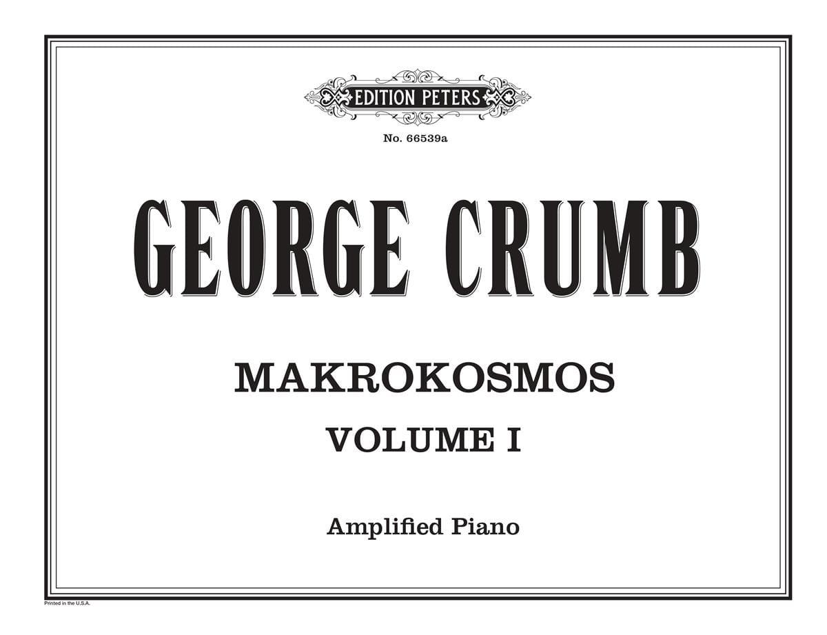 Makrokosmos. Volume 1 - George Crumb - Partition - laflutedepan.com