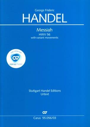 Messiah Hwv 56 Avec Ornementations HAENDEL Partition laflutedepan
