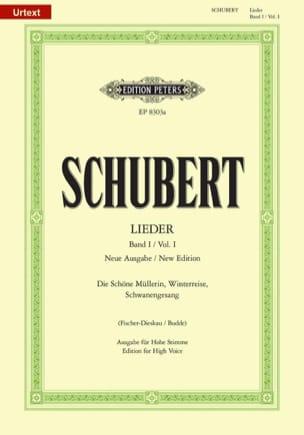 Lieder Volume 1 - Voix Haute - Fischer-Dieskau SCHUBERT laflutedepan