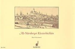 Alt-Nürnberger Klavierbüchlein - Partition - laflutedepan.com
