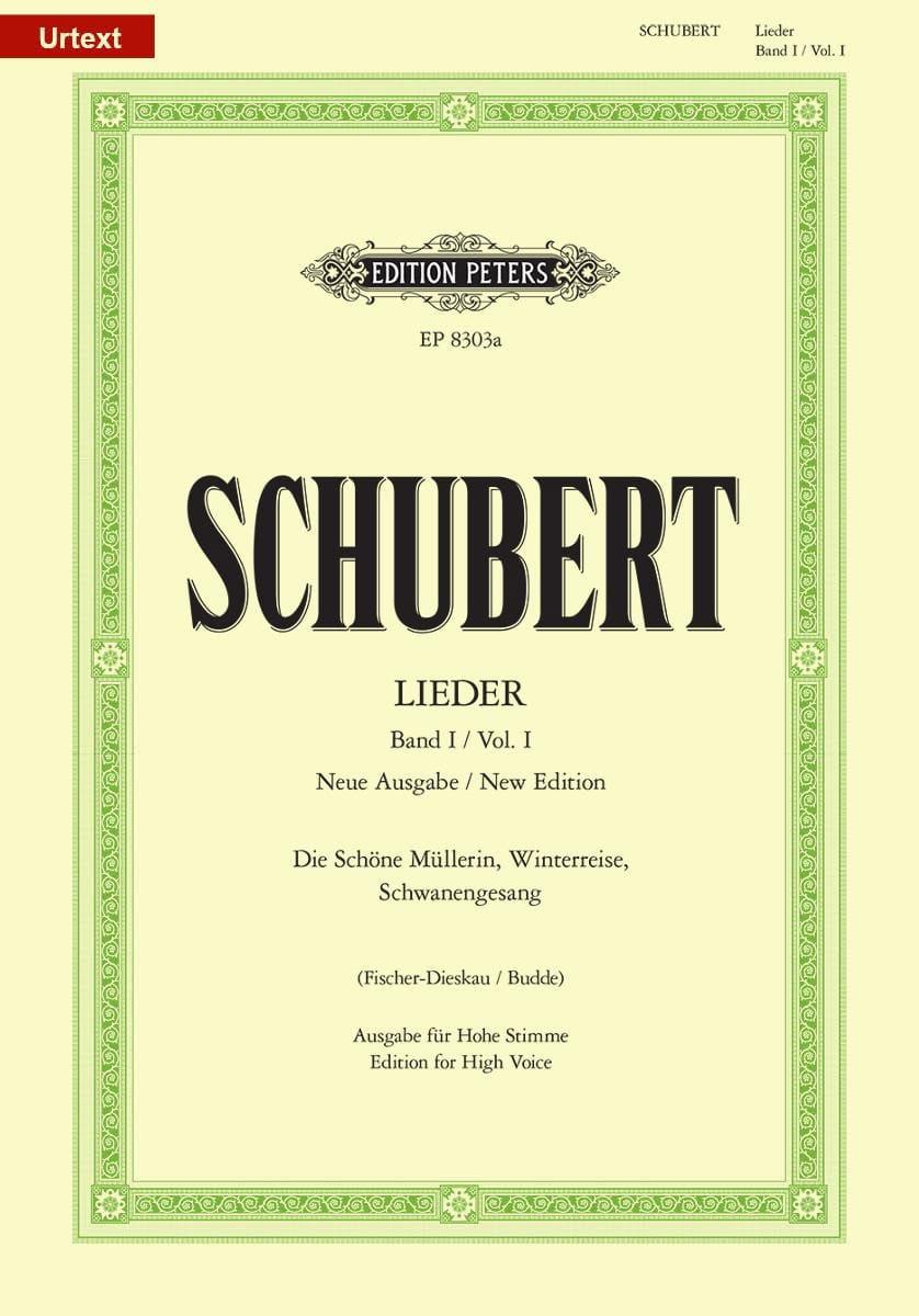 Lieder Volume 1 - Voix Haute - Fischer-Dieskau - laflutedepan.com