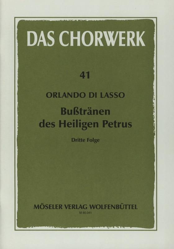 Busstränen des Heiligen Petrus. 3ème Partie - laflutedepan.com