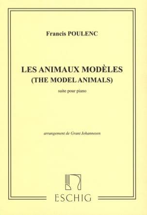 Les Animaux Modèles POULENC Partition Piano - laflutedepan