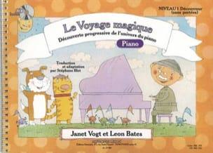 Le Voyage Magique PIANO Niveau 1 Découvreur Sans Portées laflutedepan