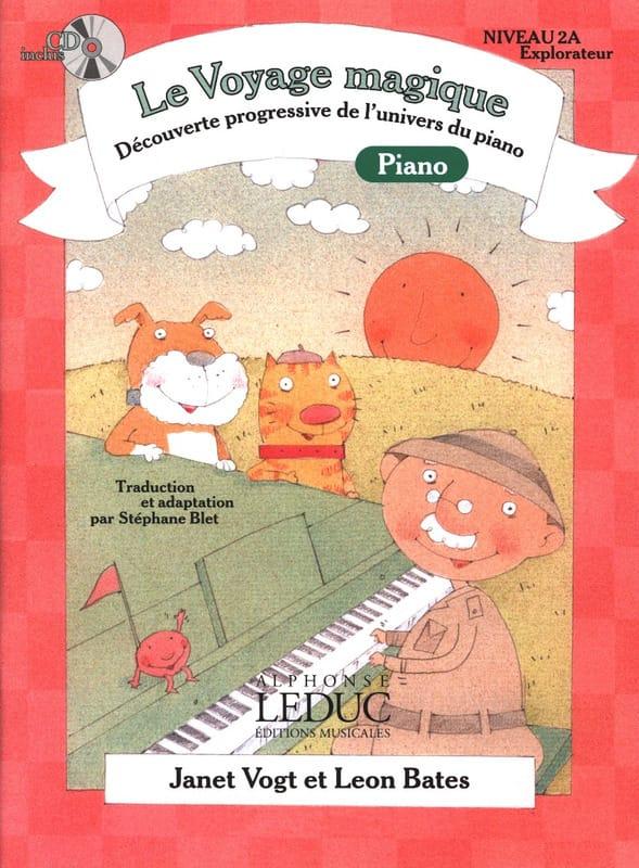 Le Voyage Magique PIANO Niveau 2A Explorateur - laflutedepan.com