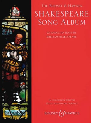 Shakespeare Song Album - Partition - Mélodies - laflutedepan.com