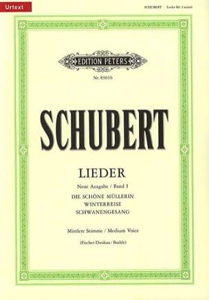 SCHUBERT - Lieder vol. 1 Voz media - Fischer-Dieskau - Partition - di-arezzo.es