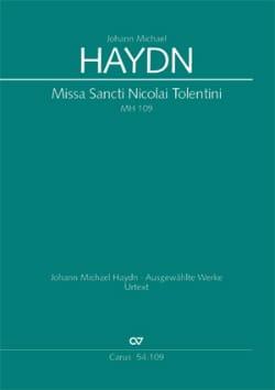 Missa Sancti Nicolai Tolentini MH 109 Michael HAYDN laflutedepan