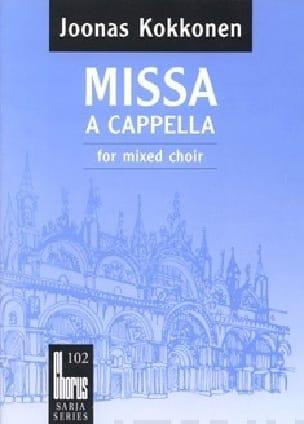 Missa A Cappella - Joonas Kokkonen - Partition - laflutedepan.com