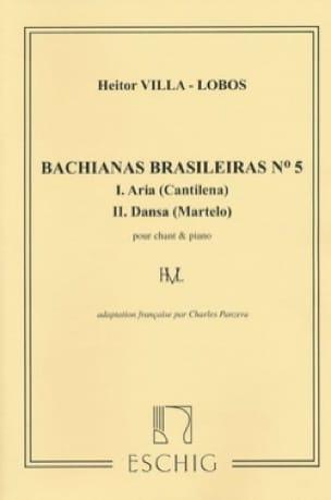 Bachianas Brasileiras N° 5 - VILLA-LOBOS - laflutedepan.com