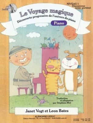 Le Voyage Magique PIANO Niveau 1 Découvreur Avec Portées laflutedepan