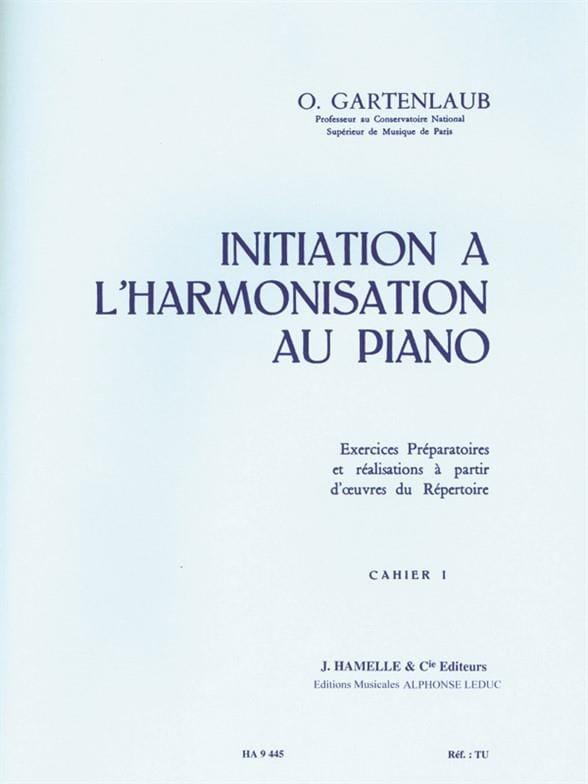 Initiation à l'harmonisation au Piano - Volume 1 - laflutedepan.com