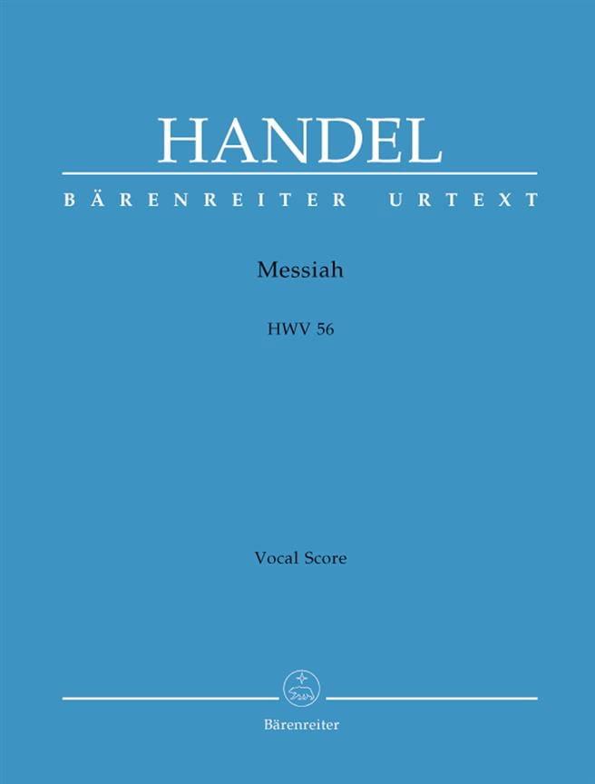 Messiah HWV 56 - HAENDEL - Partition - Chœur - laflutedepan.com