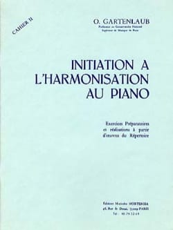 Initiation à l'harmonisation au Piano - Volume 2 laflutedepan