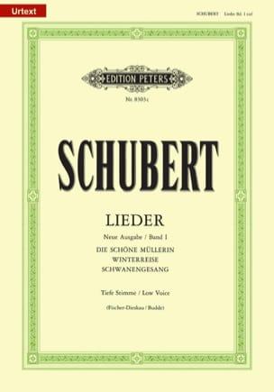 Lieder Volume 1 - Voix Grave - Fischer-Dieskau SCHUBERT laflutedepan