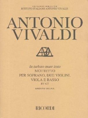 VIVALDI - In Turbato Mare Irato RV 627. - Partition - di-arezzo.co.uk