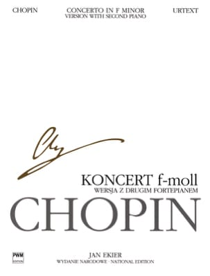 Concerto pour piano n° 2 en fa mineur op. 21 CHOPIN laflutedepan