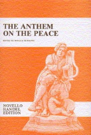 The Anthem On The Peace HAENDEL Partition Chœur - laflutedepan