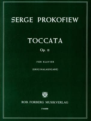 Sergei Prokofiev - Toccata Opus 11 Piano - Partition - di-arezzo.co.uk