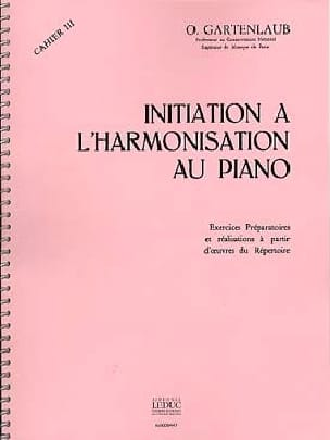 Initiation à l'harmonisation au Piano - Volume 3 - laflutedepan.com