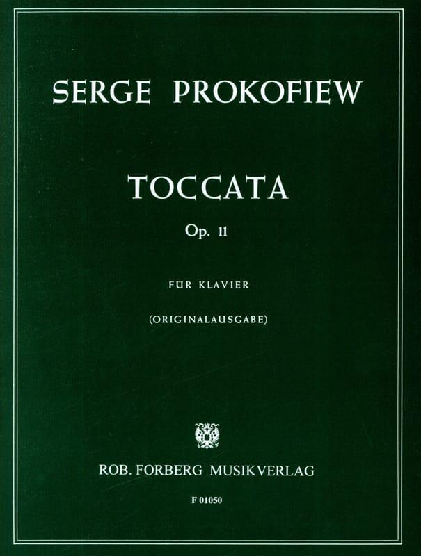 Toccata Opus 11 Piano - PROKOFIEV - Partition - laflutedepan.com