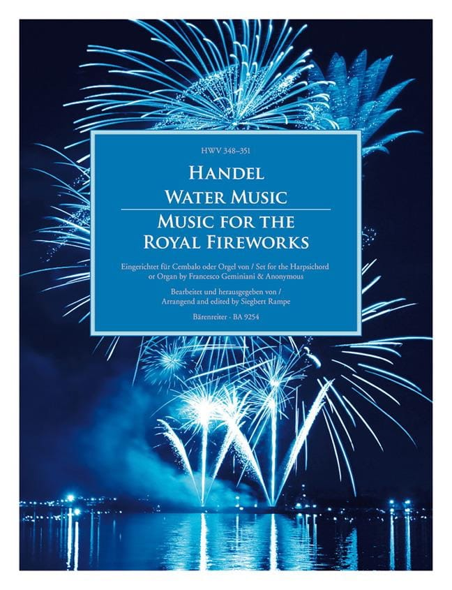 Water Music - Music for the Royal Fireworks - laflutedepan.com