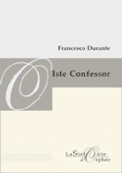 Iste Confessor. Conducteur Francesco Durante Partition laflutedepan