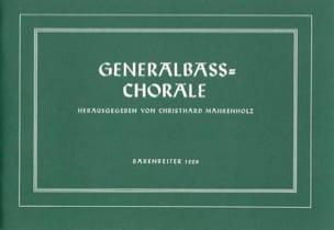 Generalbass-Choräle Partition Clavecin - laflutedepan