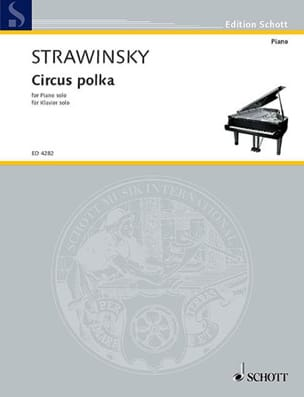 Circus Polka 1942 STRAVINSKY Partition Piano - laflutedepan