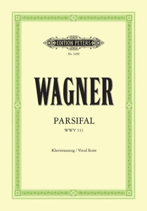 Parsifal Wwv 111 WAGNER Partition Opéras - laflutedepan