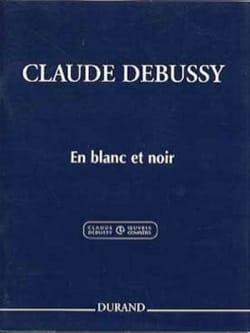 En Blanc et Noir. 2 Pianos DEBUSSY Partition Piano - laflutedepan