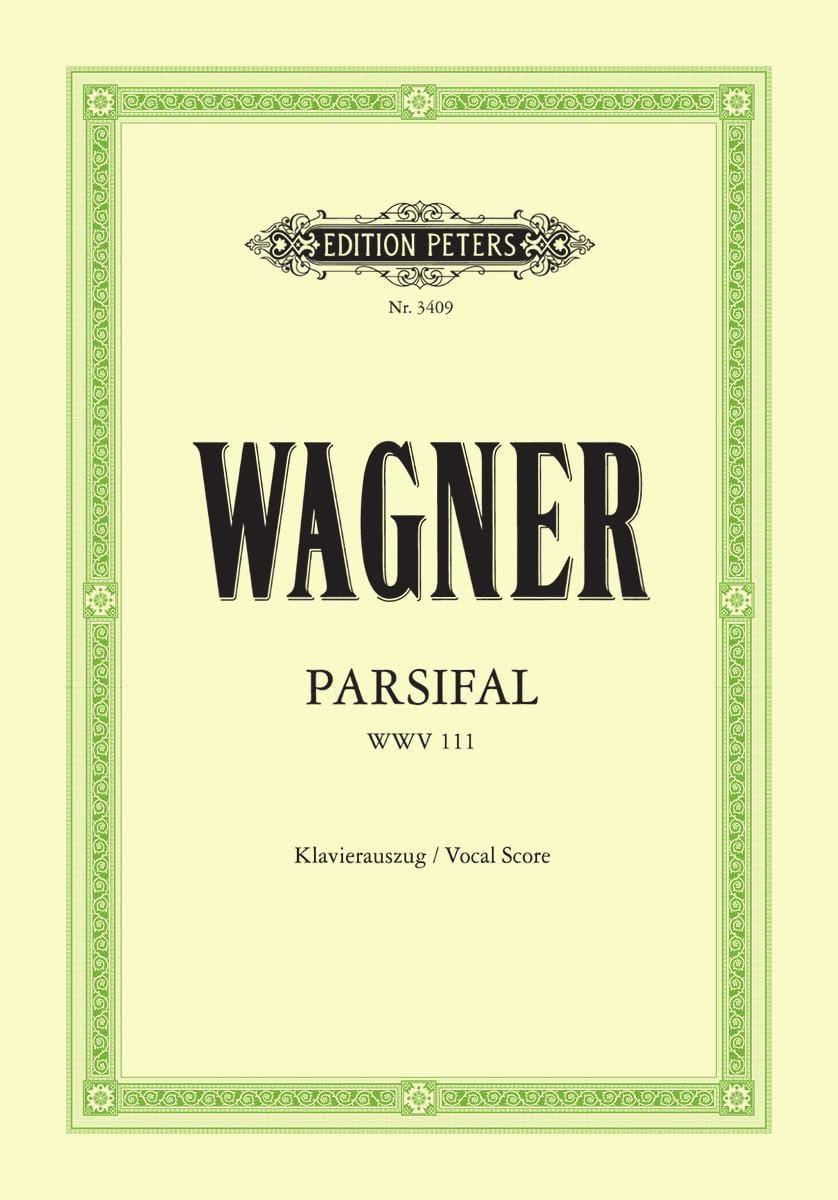 Parsifal Wwv 111 - WAGNER - Partition - Opéras - laflutedepan.com