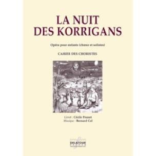 La nuit des Korrigans - Bernard Col - Partition - laflutedepan.com