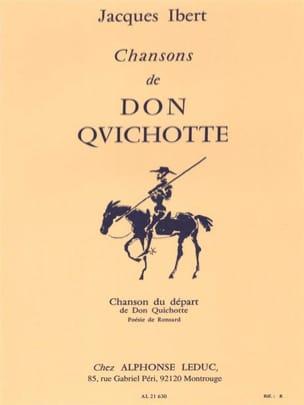 Chanson Du Départ - IBERT - Partition - Mélodies - laflutedepan.com