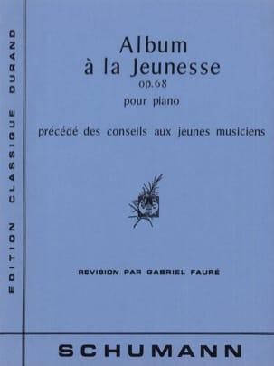 Album A la Jeunesse Opus 68 SCHUMANN Partition Piano - laflutedepan