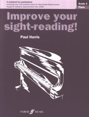 Improve Your Sight-Reading Grade 4 Paul Harris Partition laflutedepan