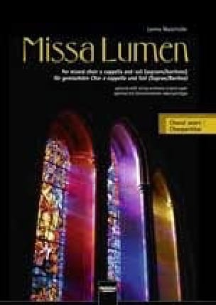 Missa Lumen. Choeur seul - Lorenz Maierhofer - laflutedepan.com